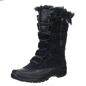 North Face Nuptse Purna snow boots 6.5 EUC